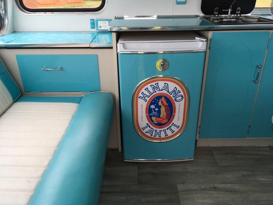 Island Time fridge