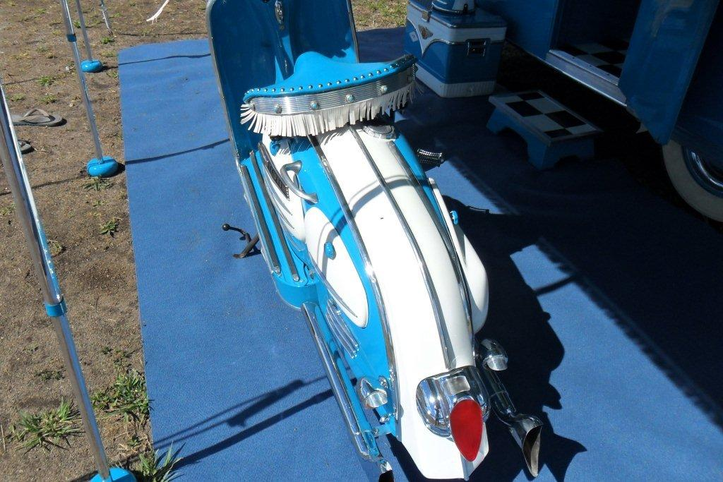 Motorhome Restorations NZ Retro Custom Caravan - Scooters (2)