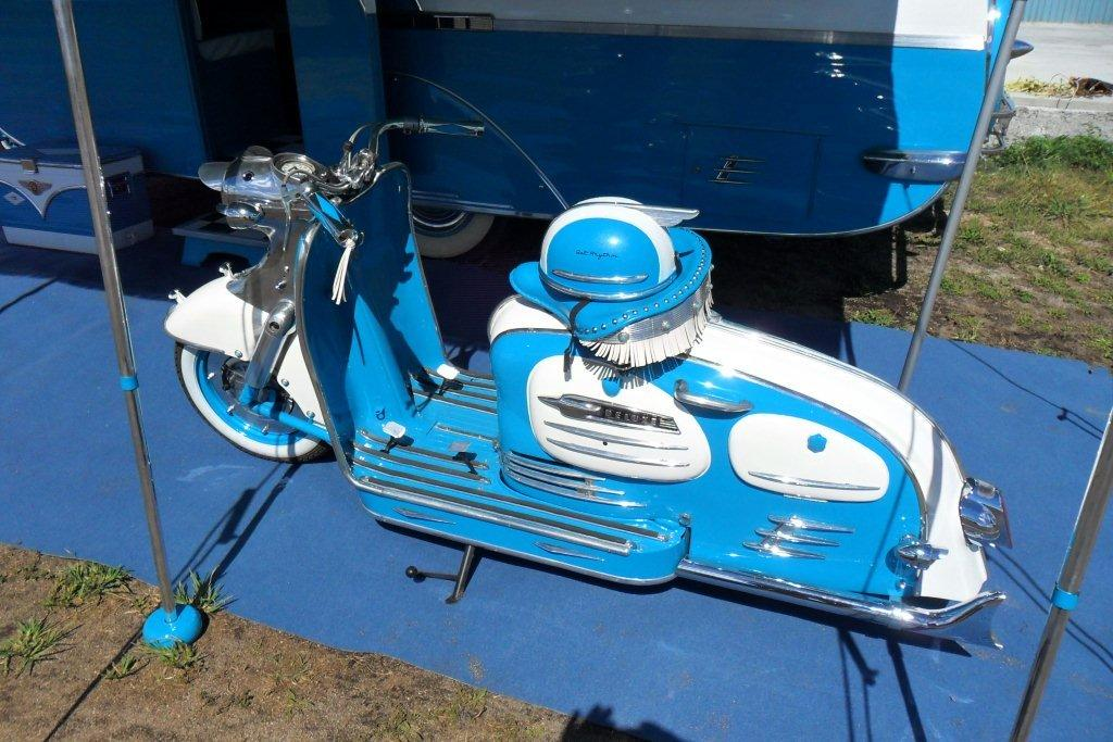 Motorhome Restorations NZ Retro Custom Caravan - Scooters (3)