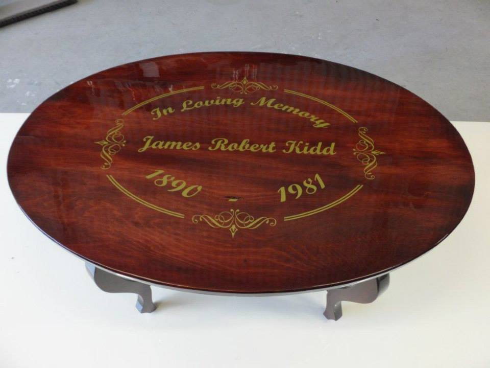 custom table print